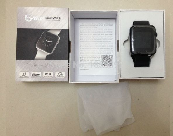 GU08S Bluetooth smart watch for Android and iOS Wearables